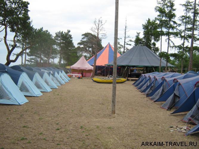 Палаточный кемпинг Парус