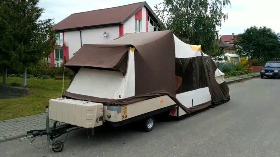 Прицеп-палатка Combi-camp