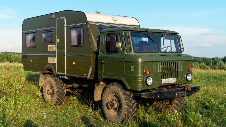 Автодом на раме грузовика ГАЗ 66