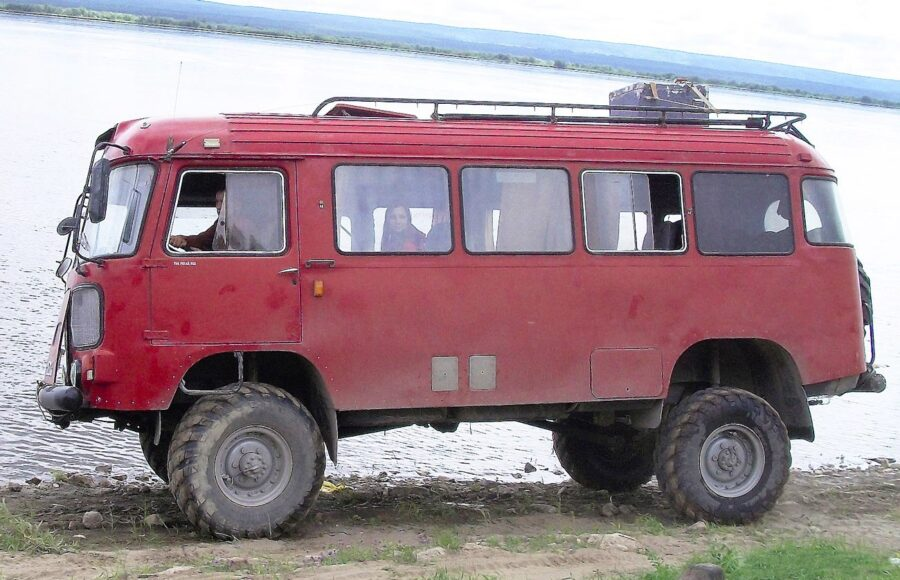 Автодом на базе автобуса ПАЗ 3201С