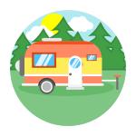 Логотип Caravan DVS
