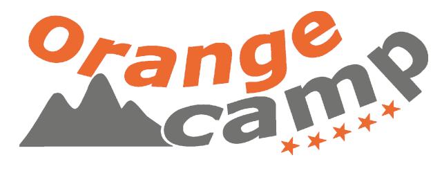 Логотип Orange Camp