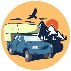 Логотип Piligrim Camper