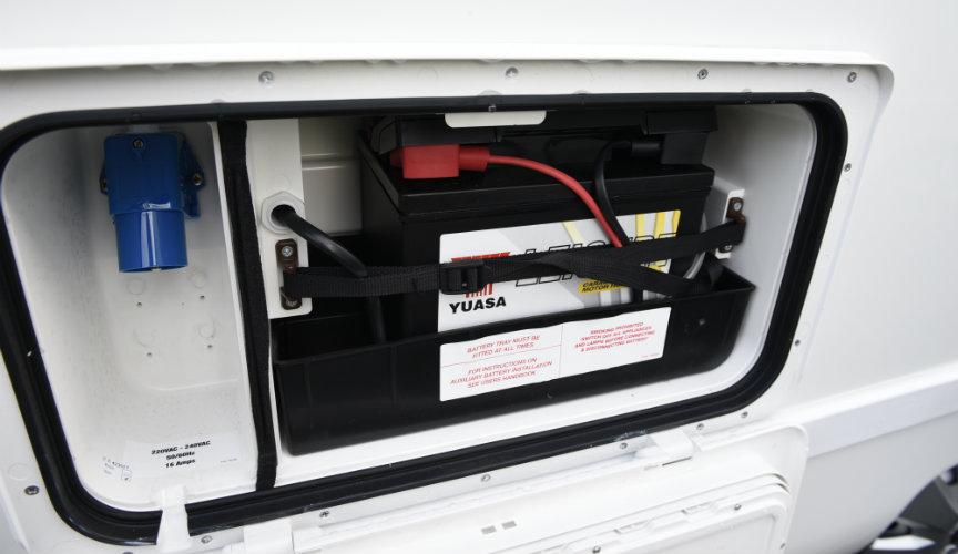 Аккумулятор в доме на колесах
