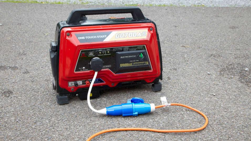 Переносной топливный генератор
