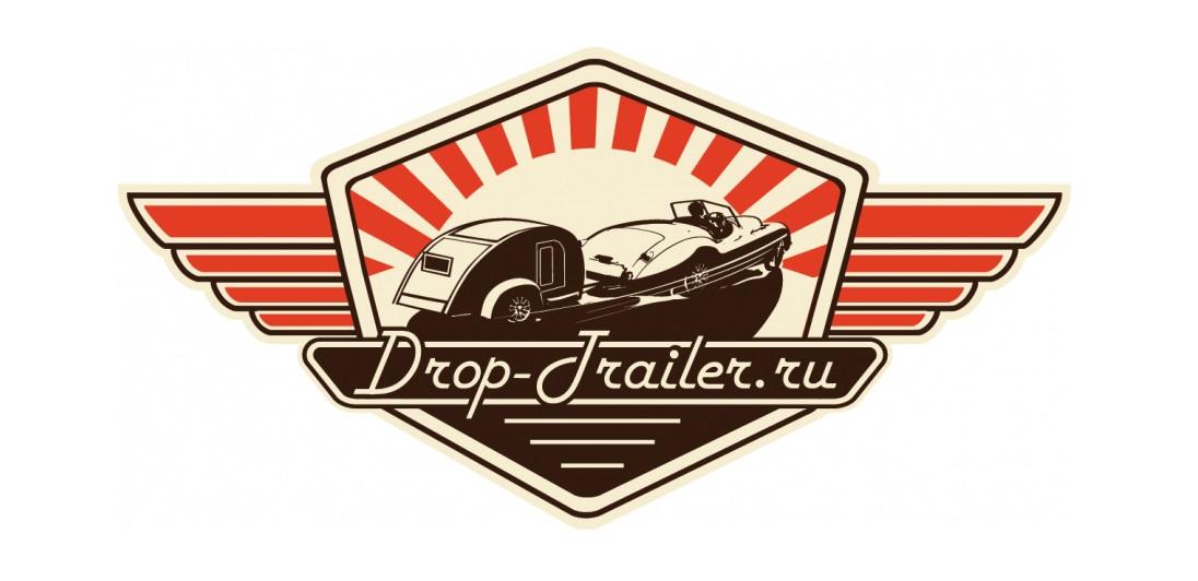 Логотип Drop-Trailer