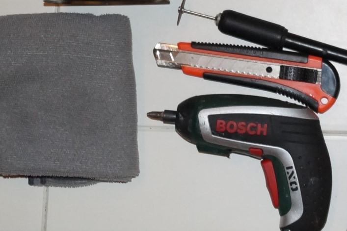 Инструменты для демонтажа и монтажа люка