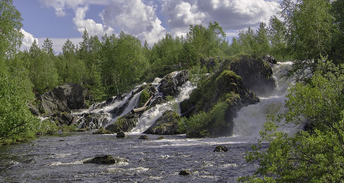 Водопад на реке Шуонийоки