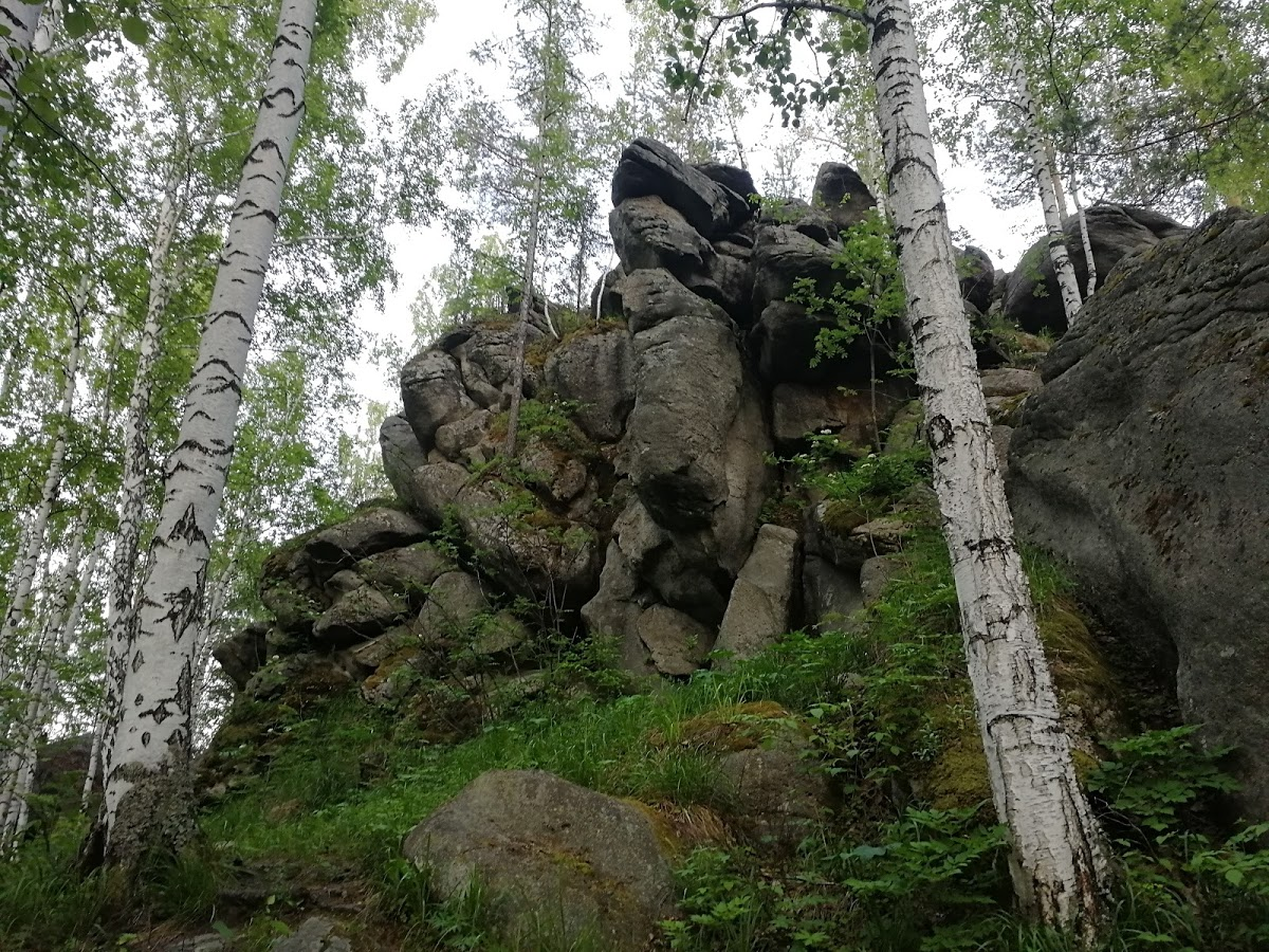Кырманские скалы