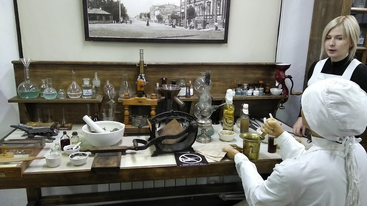 Горная Аптека музей и ресторан
