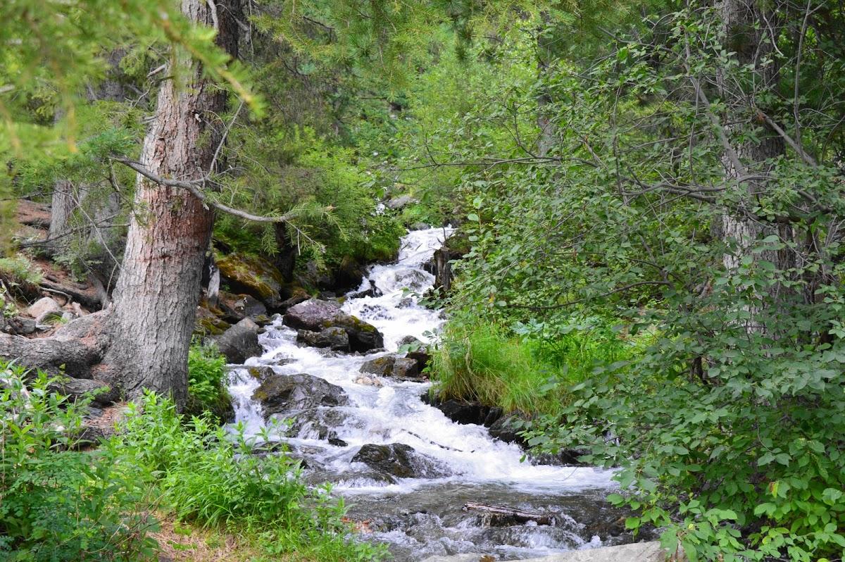 Водопад на реке Боки