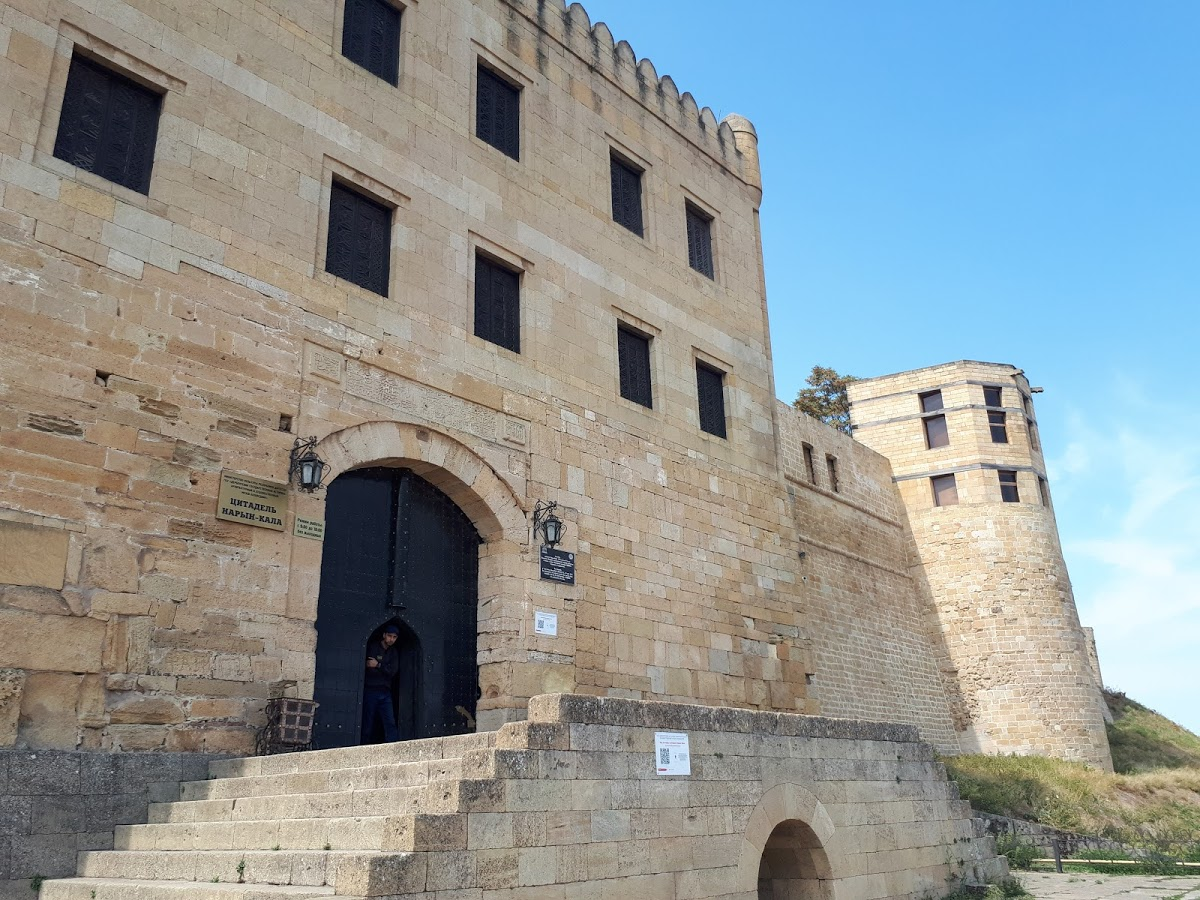 Ханский дворец крепости Нарын-кала