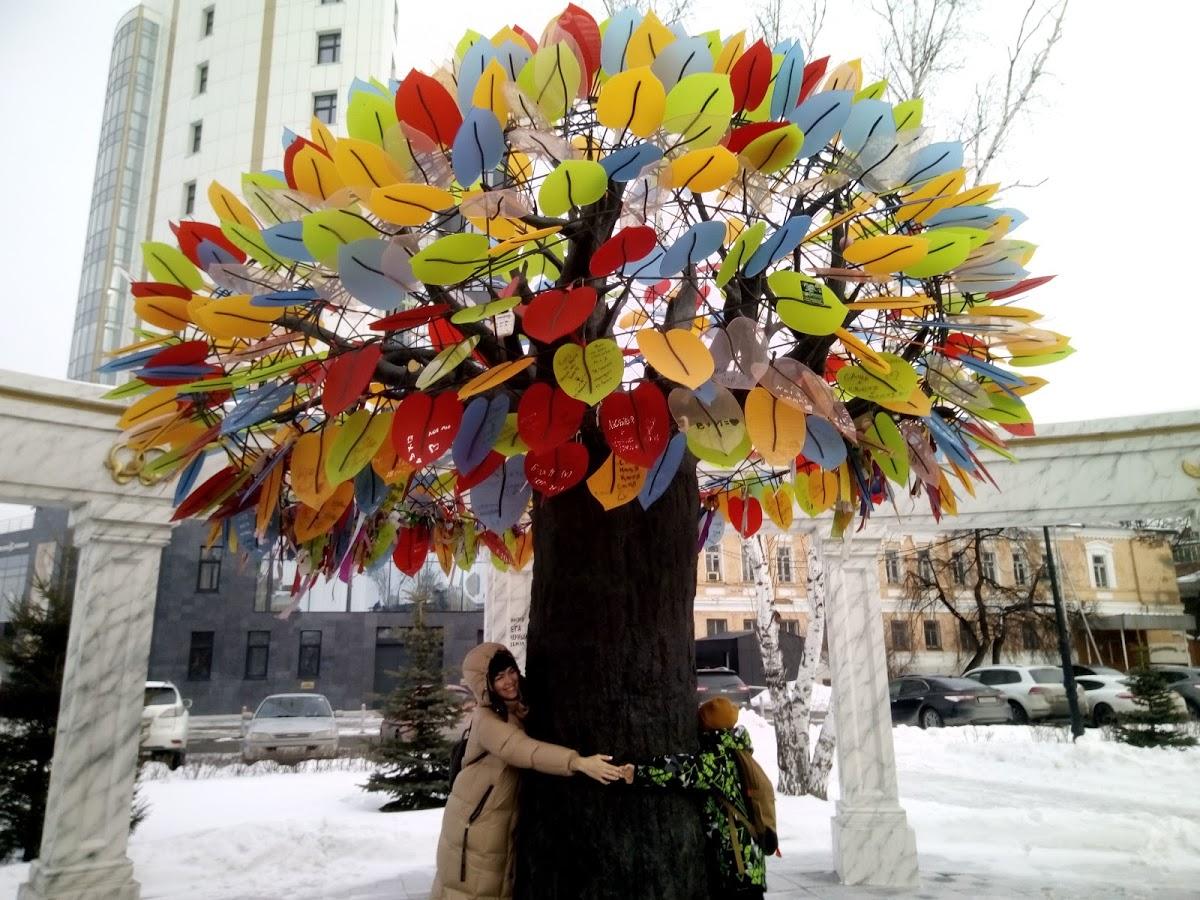"""Скульптурная композиция """"Дерево счастья"""""""