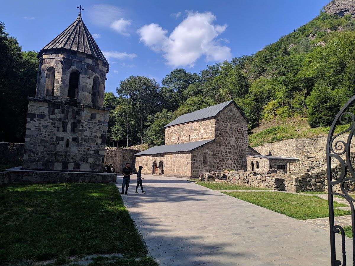 Зеленый монастырь в Боржоми