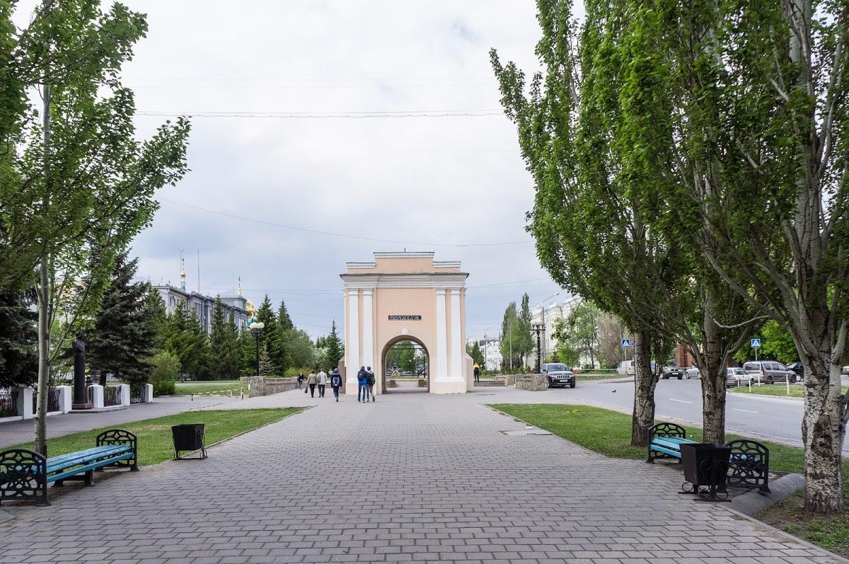 Тарские Ворота Омской Крепости