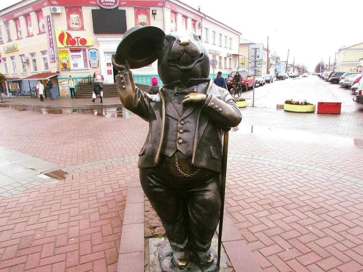 Скульптура Бобра