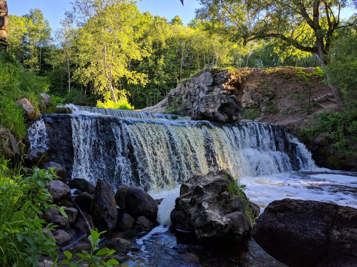Водопад на реке Вята