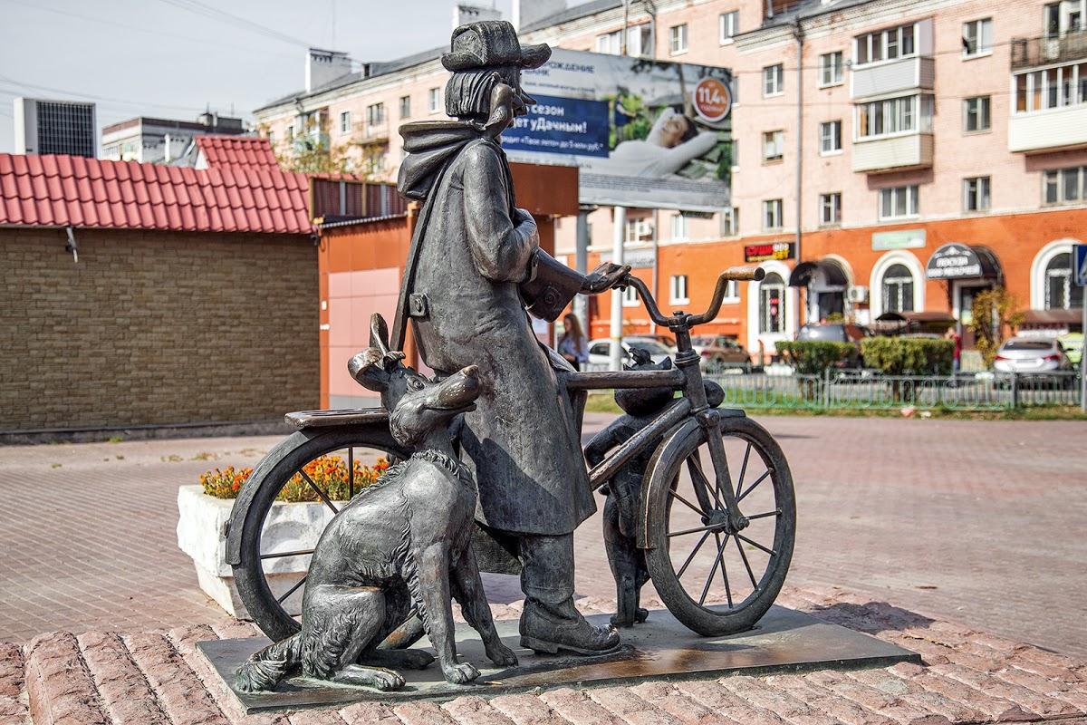 Памятник почтальону Печкину