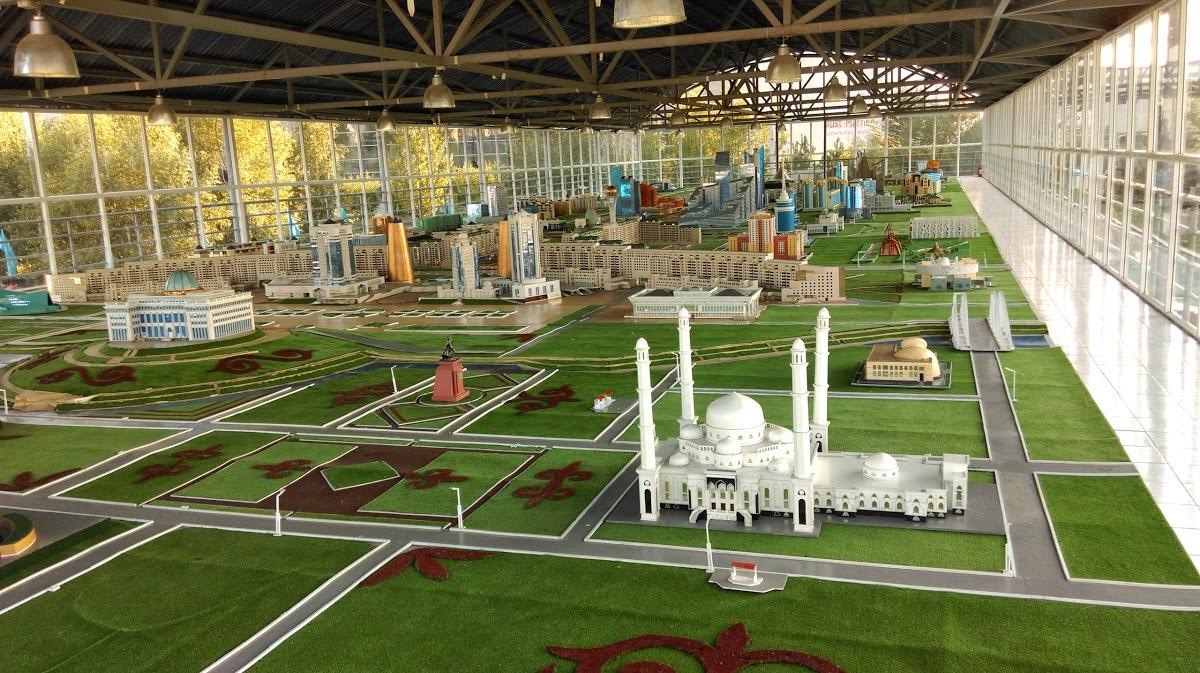Этно-мемориальный комплекс Карта Казахстана Атамекен