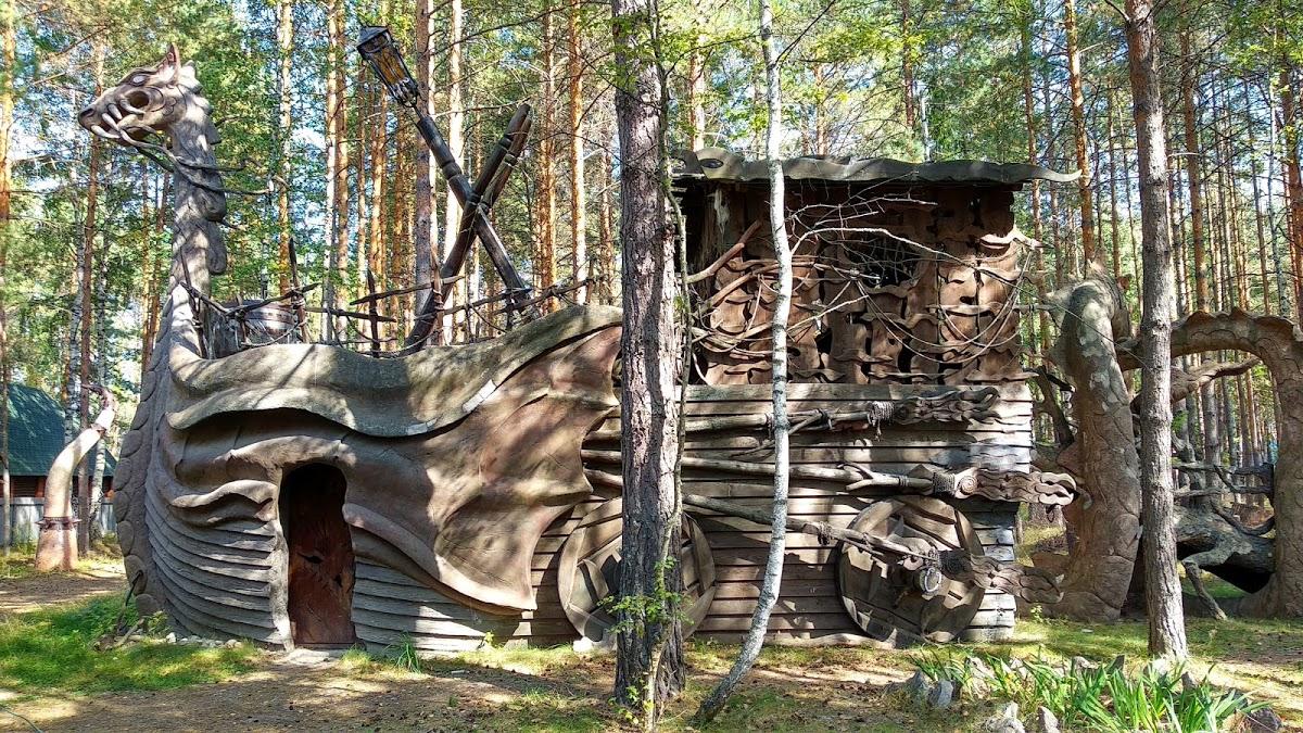 Музей Бабы Яги и деревянного зодчества