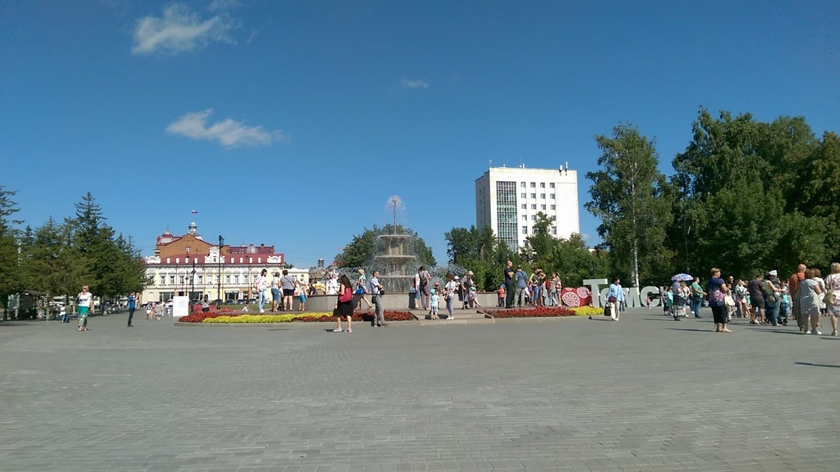 Фонтан на Ново-соборной