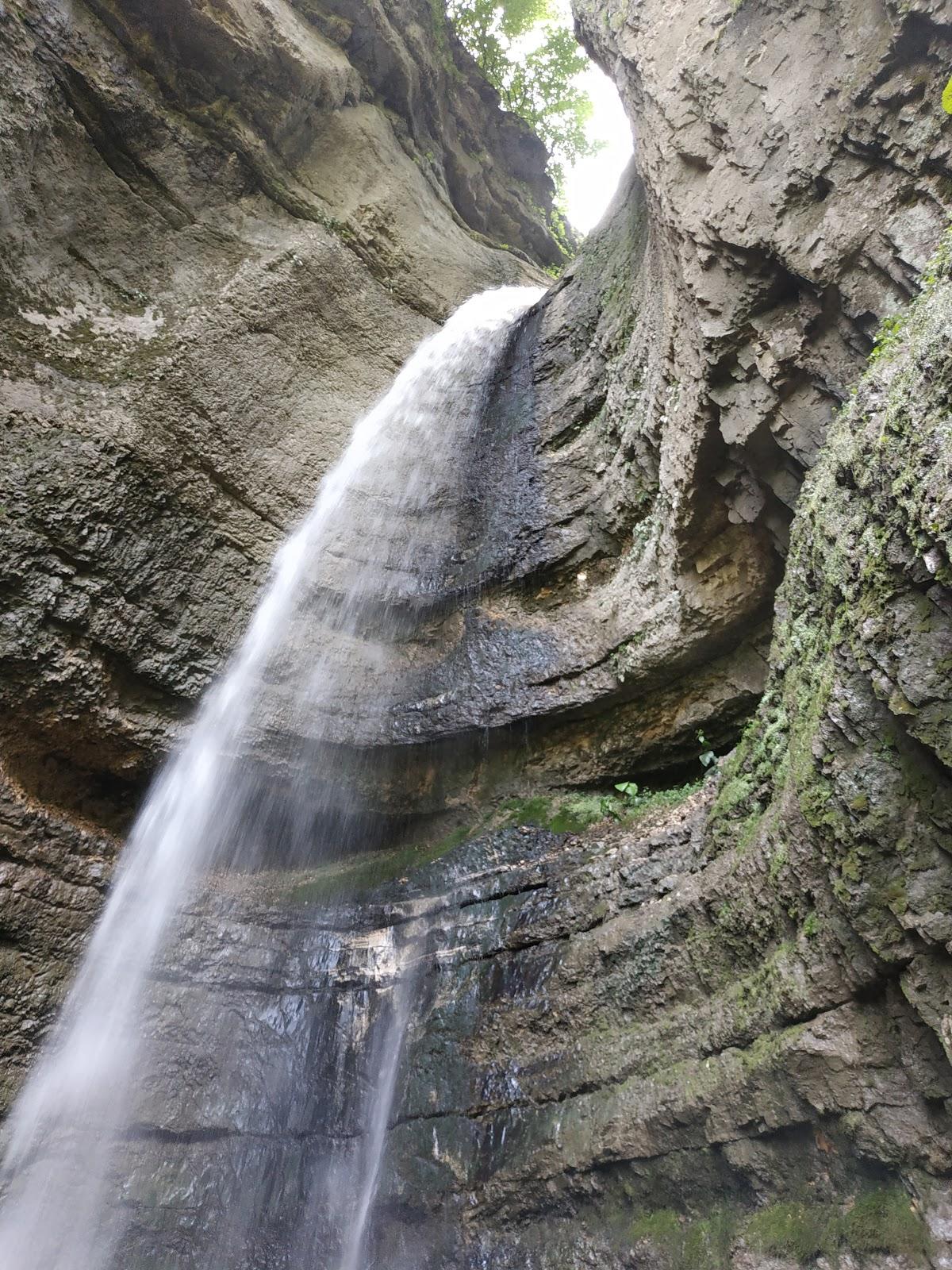 водопад Адай-су (Малый чегемский)