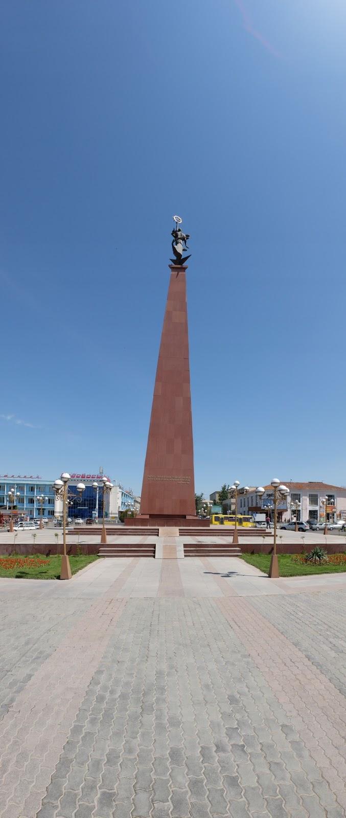 Жер Ана (Мать Земля) монумент