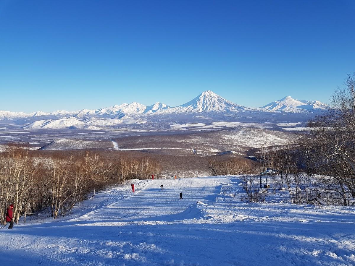 Гора Морозная . Горнолыжный Курорт