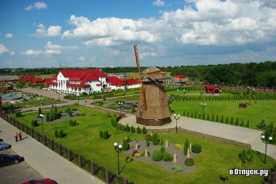 Этнографическая белорусская деревня