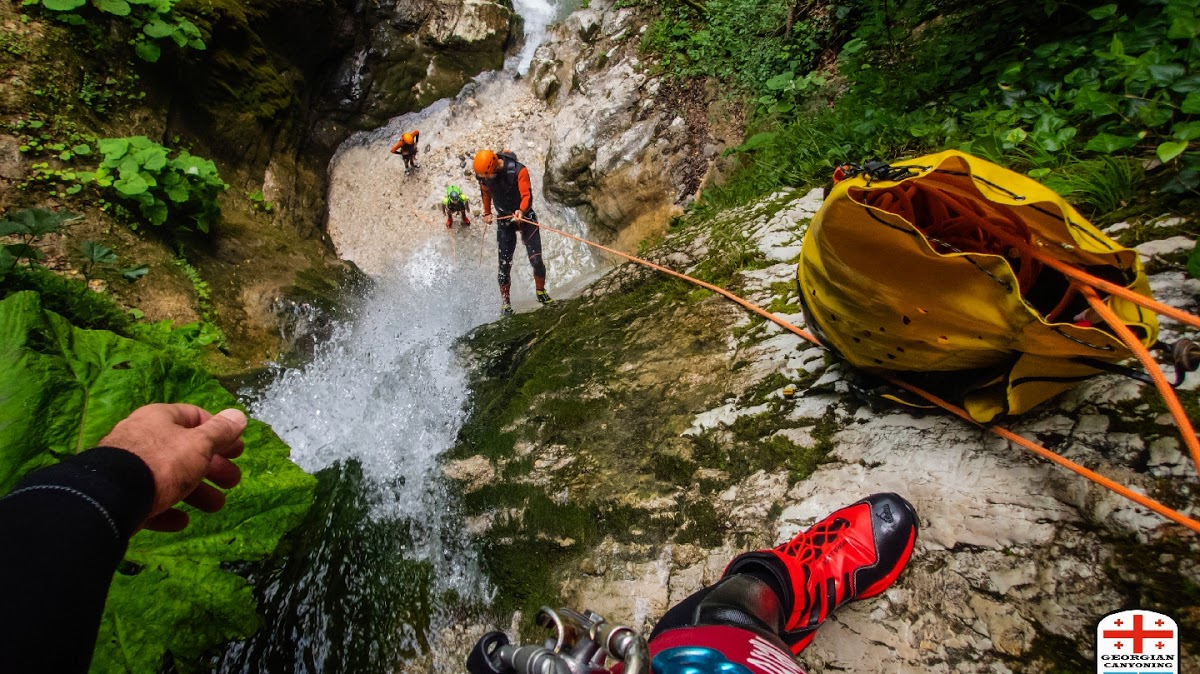 Georgian Canyoning