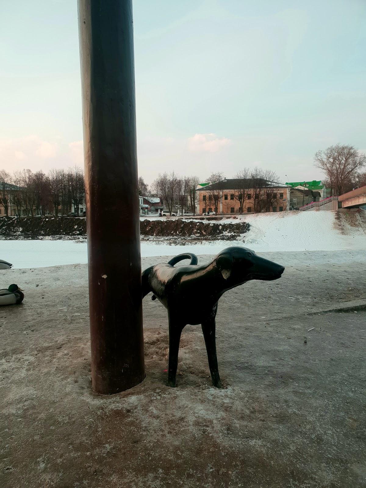 Памятник электрическому фонарю