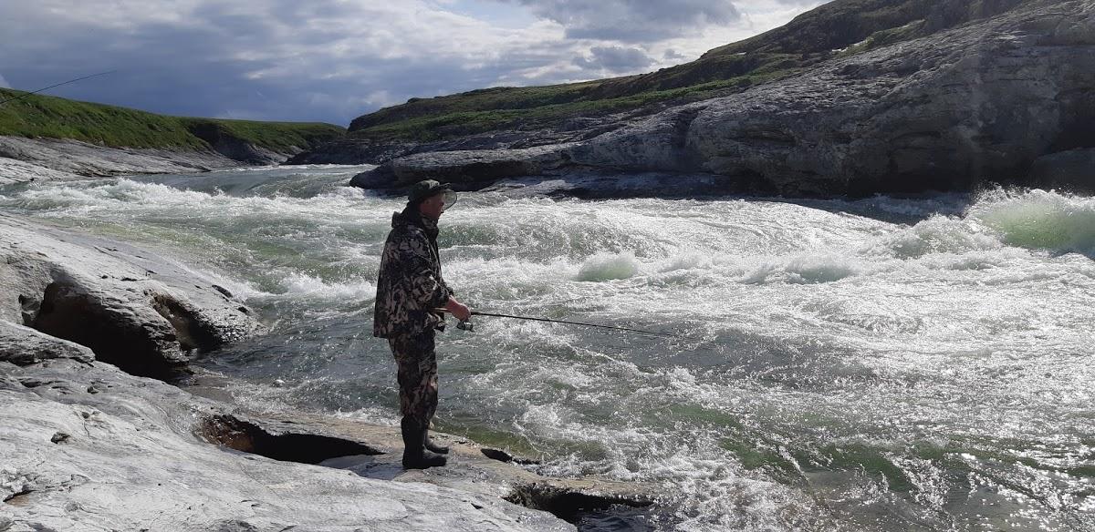 Порог Водопад Буредан