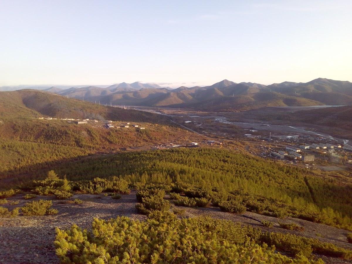 Гора В Омчаке