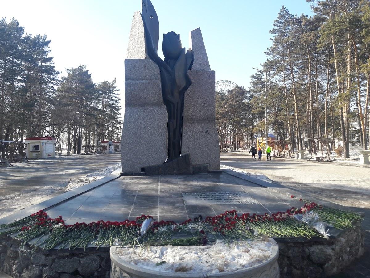 Монумент Черный Тюльпан