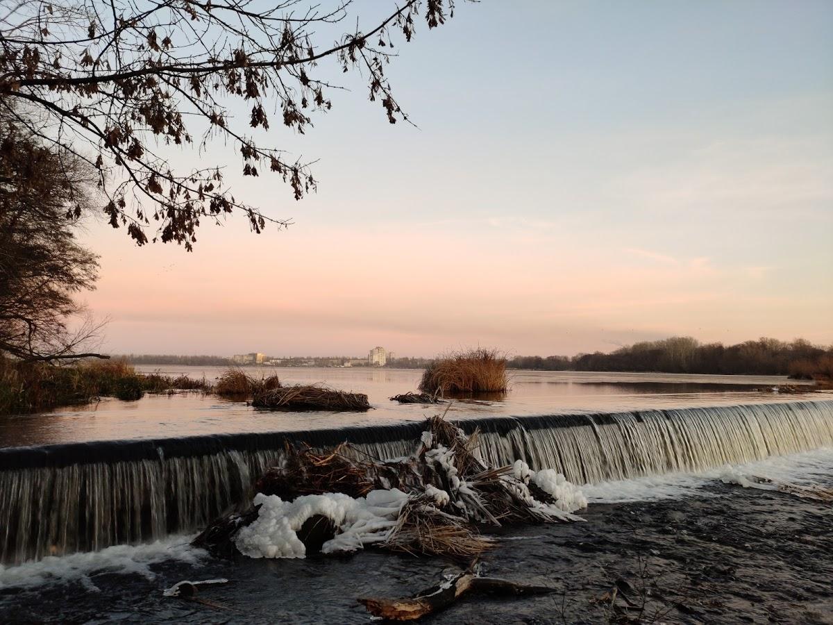 Водопад на реке Воронеж