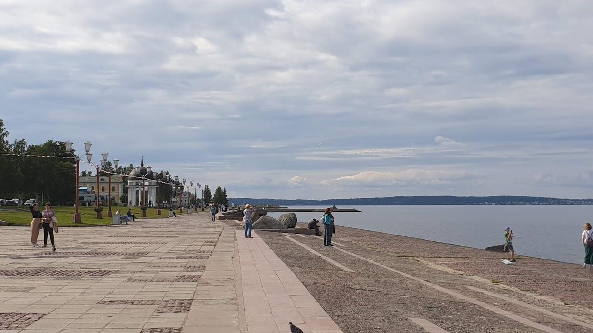 Quay of Petrozavodsk