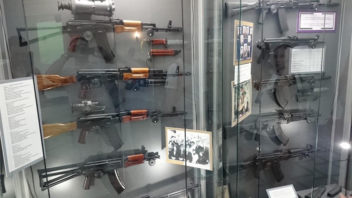 Музейно-выставочный комплекс стрелкового оружия им. М.Т. Калашникова