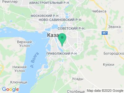"Карта Кемпинг ""Казанская Ярмарка"""