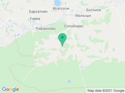 """Карта Туристический комплекс """"Южное"""""""