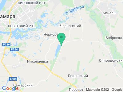 """Карта Кемпинг """"Черновское подворье"""""""