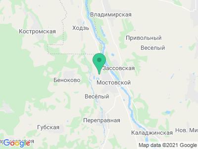 """Карта Термальный комплекс """"Распутин"""""""