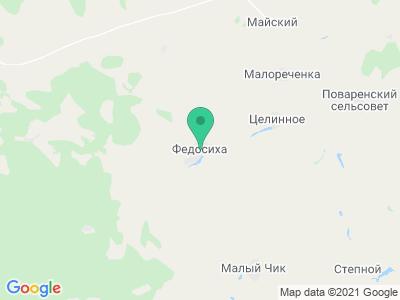 """Карта Агроферма """"Русский Двор"""""""