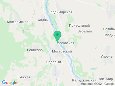 "Карта База отдыха ""Жемчужина предгорья"""