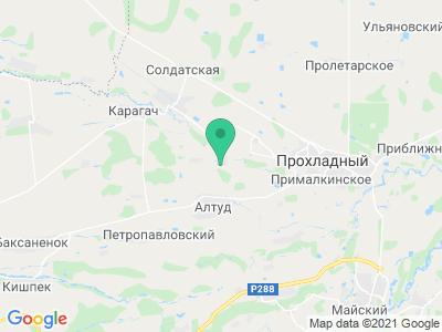 """Карта Термальный источник """"Янтарное Аква"""""""