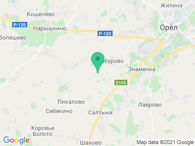 "Карта База отдыха ""Сабурово"""