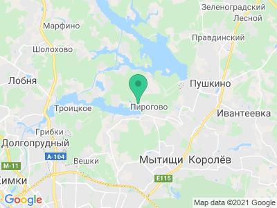 """Карта Зона отдыха """"Дубрава"""""""