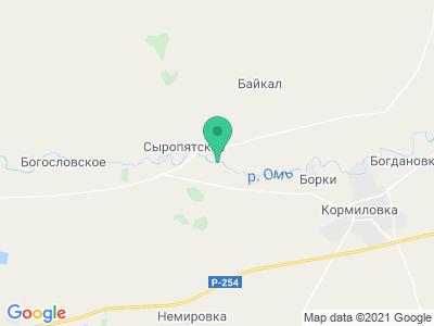 """Карта База отдыха """"Жемчужина"""""""