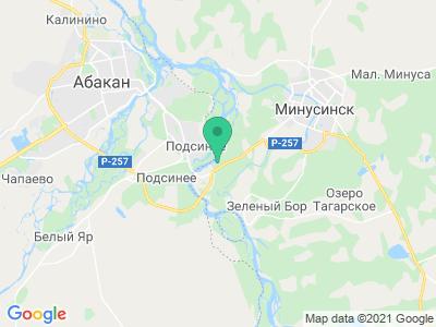 "Карта Стоянка ""СаянАэро"""