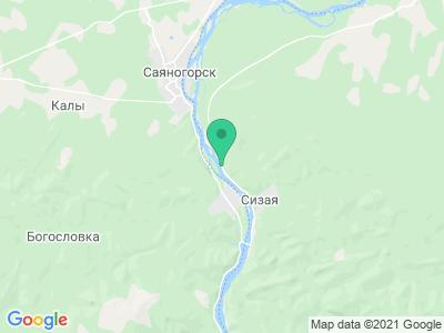 Карта Стоянка у деревни Сизая