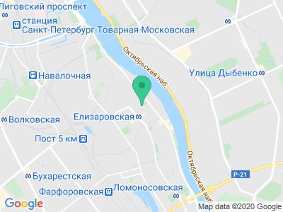 """Карта Отель """"Елизар"""""""